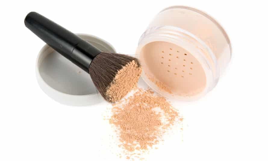 powdered foundation