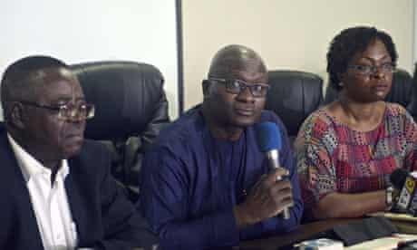 Lagos health commissioner Jide Idris