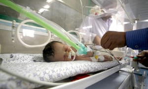 Gaza emergency caesarean