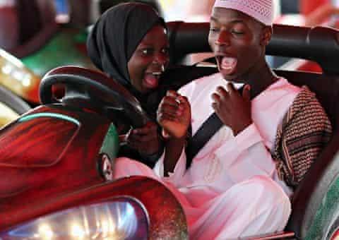 Eid festival dodgems