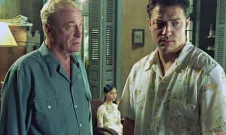 Doomed romantic … Michael Caine as Thomas Fowler in The Quiet American, with Brendan Fraser as Alden