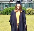 Hayley Minn in her graduation gown