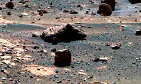 View of Mars from Opportunity rover