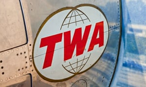 Old TWA airline logo