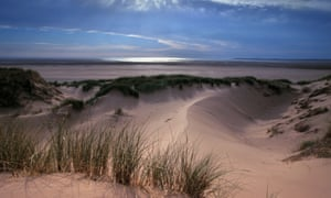 BHFKYR Marram grass and sand dunes at Sandscale Haws.