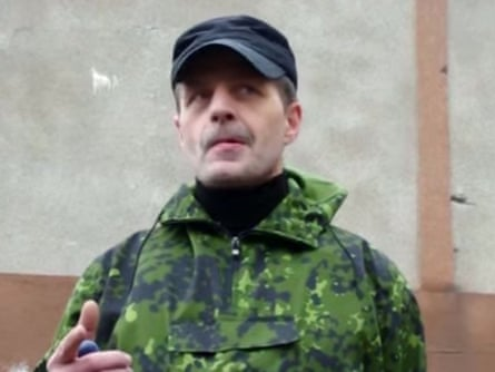Igor Bezler, nicknamed the Demon, in an image taken earlier this year