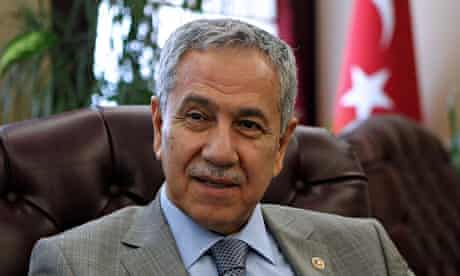 Bulent Arinc's comments have been derided by opponents and on social media.
