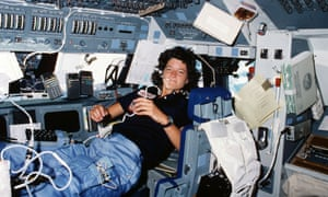 sally ride woman in space
