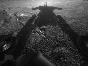 nasa rover opportunity on Mars