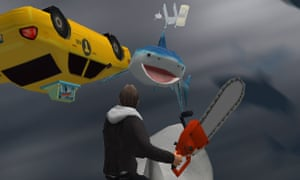 Sharknado: The Video Game has been released for iPhone and iPad so far.