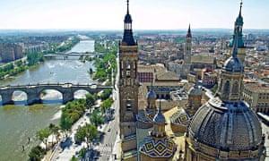 Smarter urban water: Ebro River Zaragoza Spain