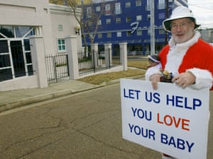 mississippi abortion clinic protester
