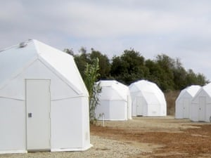 U-Dome refugee shelter