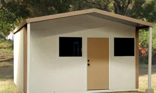 QuickHab refugee shelter