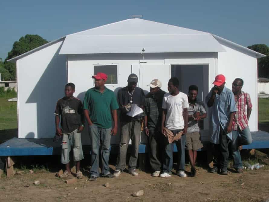 Global Village refugee shelter