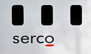 Serco prison van