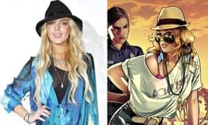 Lindsey Lohan/Grand Theft Auto