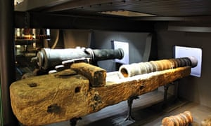 The Mary Rose Museum.