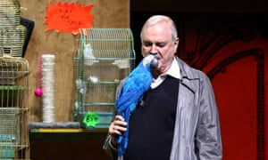 John Cleese with the Norwegian Blue
