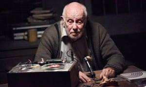 Richard Wilson in Sheffield theatres' production of Krapp's Last Tape