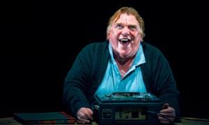 Gerard Murphy in Krapp's Last Tape at Citizens theatre, Glasgow, 2012
