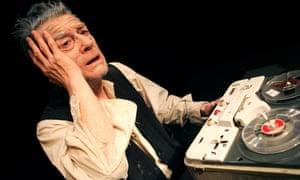 John Hurt in Krapp's Last Tape at the Barbican in 2006