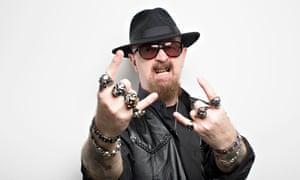 Judas Priest frontman Rob Halford. Photograph by Graeme Robertson
