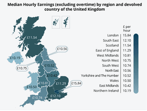 Seven Ways Uk Wages Have Changed Over The Past Four