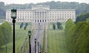Stormont building Belfast