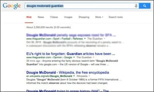 Things to remember about Google and the right to be