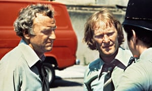 John Thaw and Dennis Waterman in The Sweeney, 1978