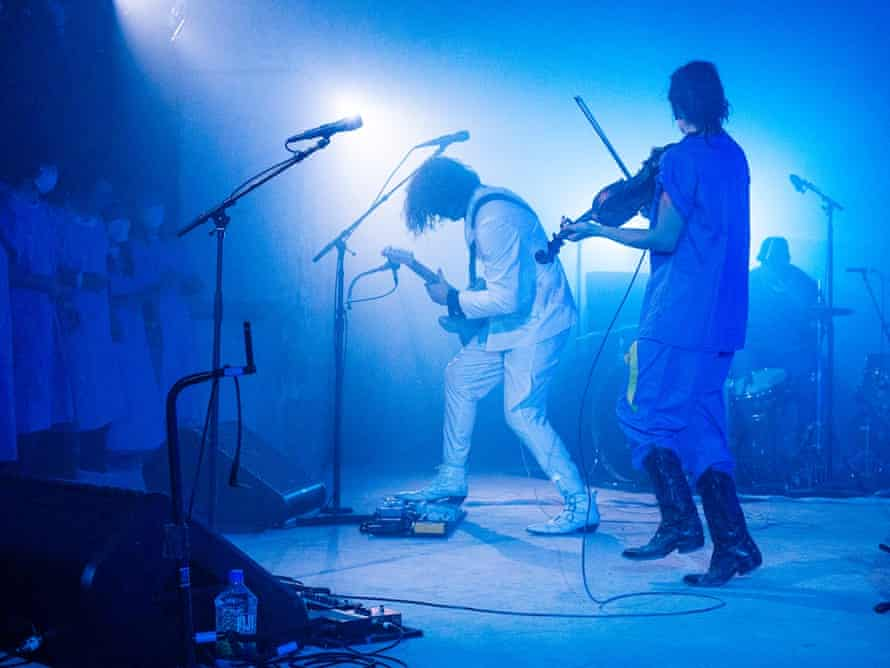 Jack White and the Punchdrunk theatre company