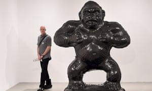 Jeff Koons Gorilla