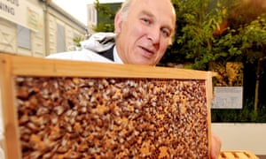 Vince Cable beekeeper