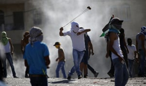 Clashes between young palestinians and Israeli police continue in East Jerusalem following the death of Abu Khdeir earlier in the week.