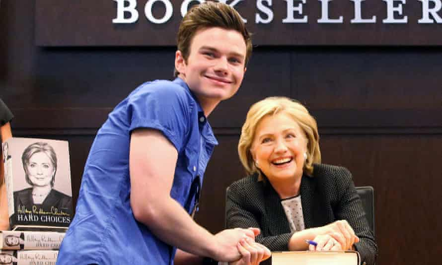 Chris Colfer. He's the one on the left.