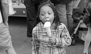 black girl ice cream