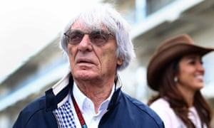 Bernie Ecclestone, the man behind F1
