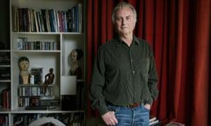 Richard Dawkins at home.