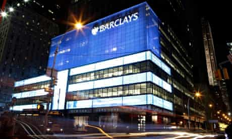 Barclays office in New York