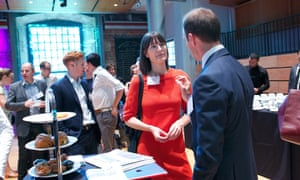 Delegates enjoy a networking break at Activate London.