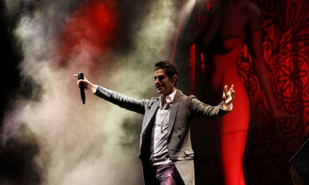 Perry Farrell of Jane's Addiction
