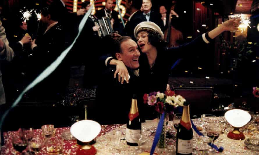 Marion Cotillard and Gerard Depardieu in La Vie En Rose.