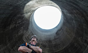 Live Better: Didcot Demolition - Man in cooling tower