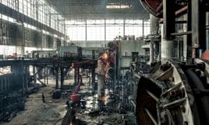 Live Better: Didcot Demolition - inside