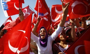 Election rally in Istanbul