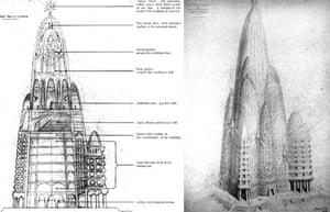 Antoni Gaudi - skyscrapers in art