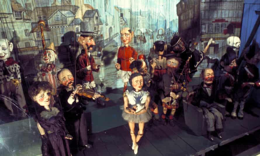 Museum of Childhood Puppets, Edinburgh, Scotland