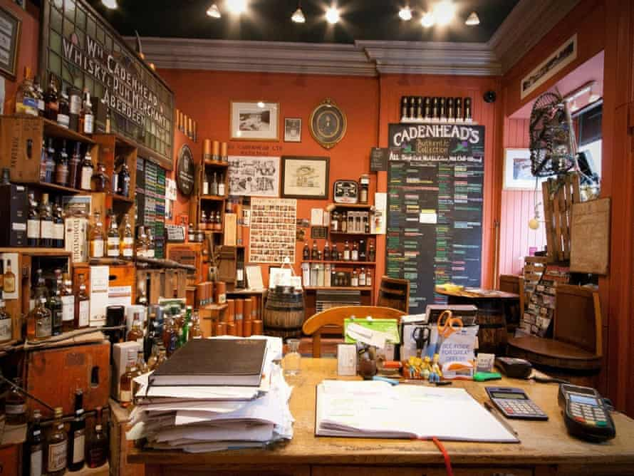 Cadenhead's Whisky Shop, Edinburgh