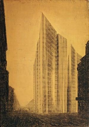 Ludwig Mies van der Rohe's Friedrichstrasse Skyscraper Project